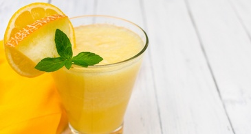 Fresh Cantaloupe Drink