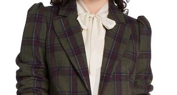 puff sleeve blazer