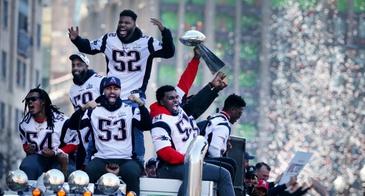 patriots championship parade