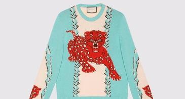 Gucci Leopard Sweater