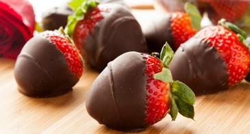 chocolae covered strawberries