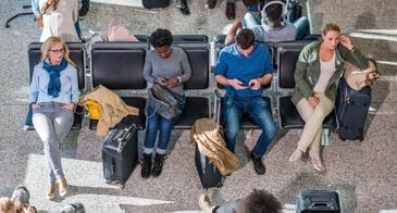 seats at airport gate