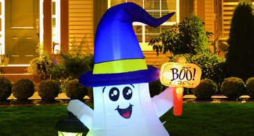 inflatable ghost