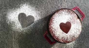 powdered sugar shapes