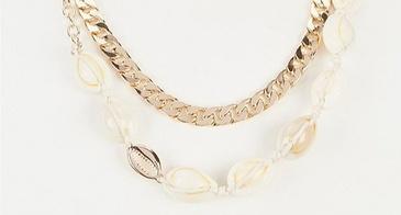 puke shell necklace