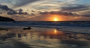 Torrance Beach, california