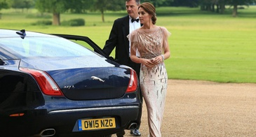 Kate Middleton in Jenny Packham at an EACH Nook Appeal in Norfolk, England in June 2016