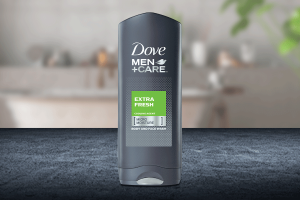 Dove Extra Fresh Body and Face Wash