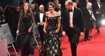 The Duke and Duchess of Cambridge Attend the 2017 BAFTAs in London