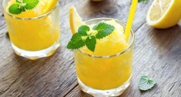 Mango Slush Drink