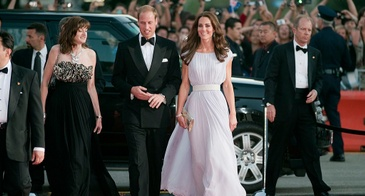 The Duke and Duchess of Cambridge at a BAFTA Event in Los Angeles in July 2011