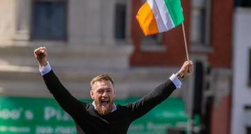 conor mcgregor st patricks day parade