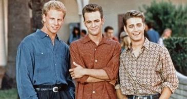 Steve Sanders, Dylan McKay and Brandon Walsh: Beverly Hills, 90210
