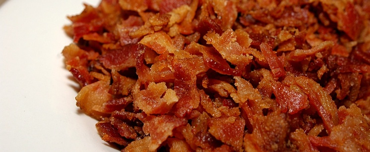 Plate of Bacon Bits