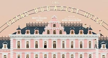 wes anderson grand budpest hotel book
