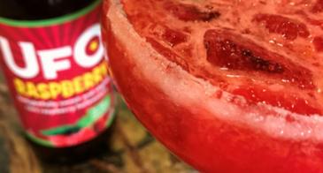 raspberry beergarita