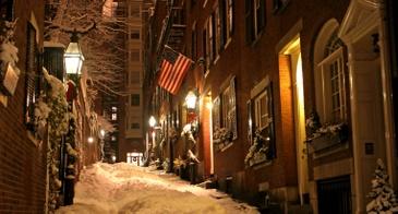beacon hill in winter