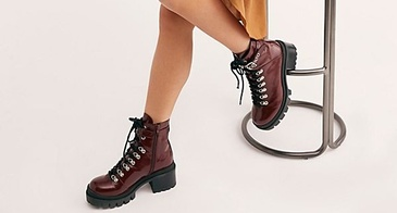 fashion hiking boots
