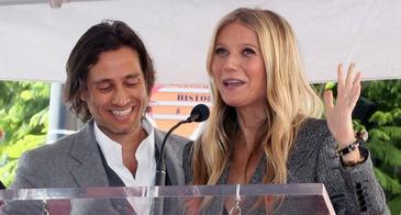 Brad Falchuk Gwyneth Paltrow Ryan Murphy Walk of Fame Ceremony