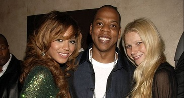 Beyonce Knowles Jay-Z  Gwyneth Paltrow Concert Afterparty London