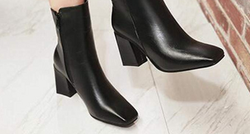 square toed booties