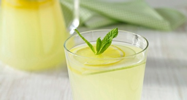 Lemonade Cocktail With Mint